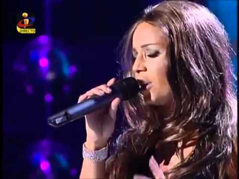 Luciana Abreu - Listen ( by Beyonce ) Amazing cover live on TVI