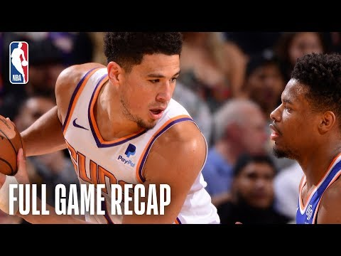 KNICKS vs SUNS | Devin Booker Goes Off For 41 Points | March 6, 2019