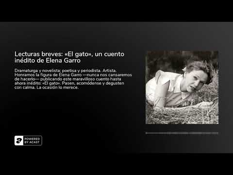 Vidéo de Elena Garro