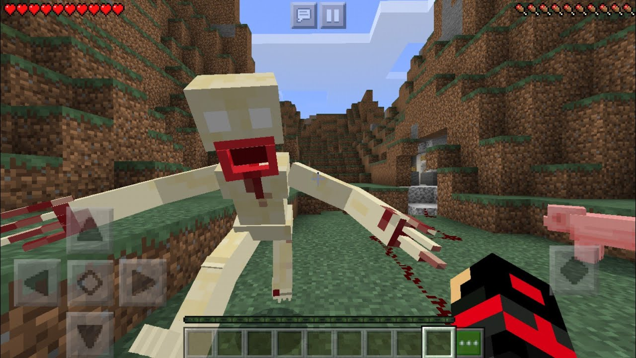 I found SCP-096 in Minecraft *Scary* [Watch The full Video]