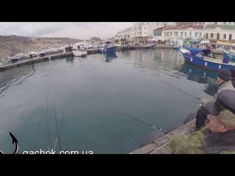 Балаклава - рыбалка с пирса на кефаль и луфарь