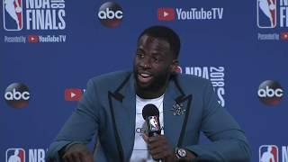 Draymond Green |  NBA Finals Game 2 Postgame Interview