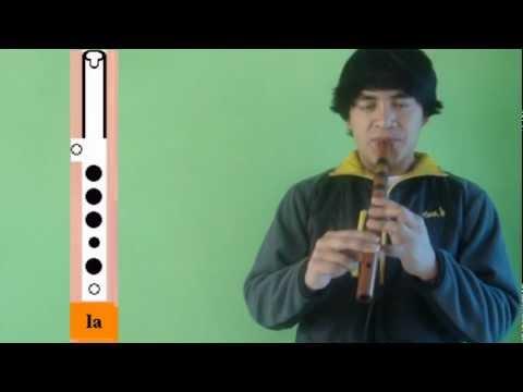 (66) COMO TOCAR QUENA (Lección 2) octavas
