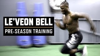 Watch Le'Veon Bell Crush This Pre-Season Speed Training Session