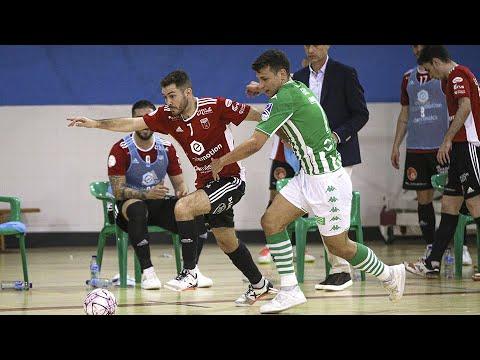 Real Betis Futsal   Futbol Emotion Zaragoza Jornada 3 Temp 21 22