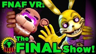 FNAF VR - The End of FNAF!   Five Nights At Freddy's VR: Help Wanted (Ending)