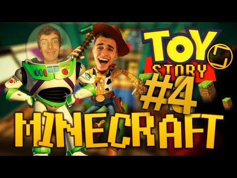 toy story sur minecraft - on est des jouets avec squeezie ! - Épisode 4