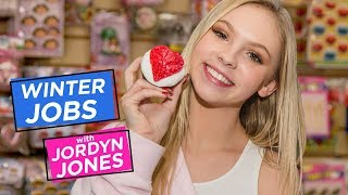 JORDYN JONES DIY CUPCAKE DECORATING| Winter Jobs w/ Jordyn Jones