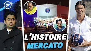 L'incroyable histoire du mercato du Paris Saint-Germain