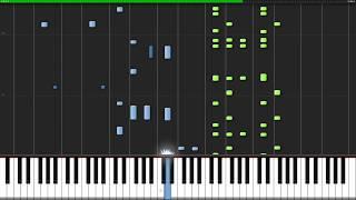 Lose Yourself - Eminem [Piano Tutorial] (Synthesia) // Nicholas Frega