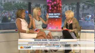 Joan Rivers on the Today Show with Kathie Lee and Hoda