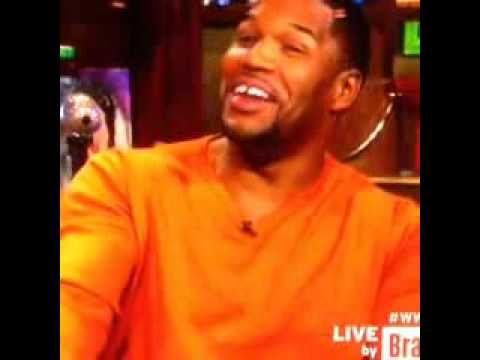 Michael Strahan on #WWHL talking about the great deal I brought him in #belair #mdlla #bravo