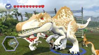 Lego Jurassic World - HYBRIDS! ( Free Roam GamePlay )