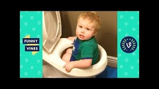 TRY NOT TO LAUGH - KIDS FAILS VINES & CUTE BABIES | Funny Videos September 2018