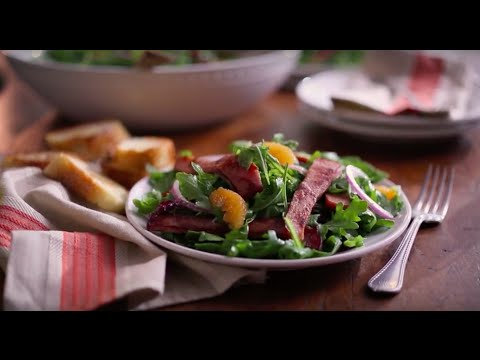 Boar's Head SmokeMaster™ Black Forest Ham & Arugula Salad
