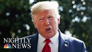 Trump Under Fire For Sharing Jeffrey Epstein Conspiracy Theory | NBC Nightly News