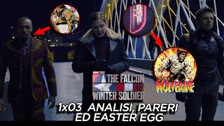 The Falcon and The Winter Soldier 1x03  - ANALISI, EASTER EGG e PARERI - WOLVERINE e MADRIPOOR