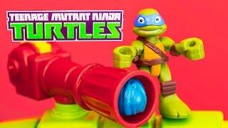 TEENAGE MUTANT NINJA TURTLES Nickelodeon TMNT Leo Shell Raiser Van a TMNT Video Toy Review
