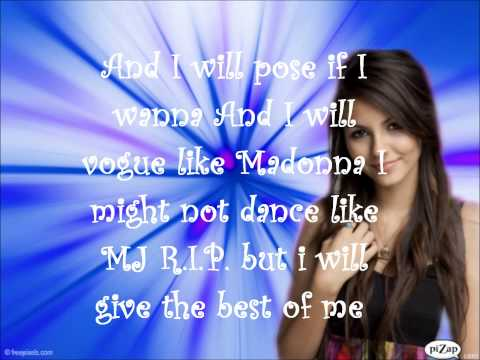 Baixar Victoria Justice- All I Want Is Everything(Remix) Lyrics