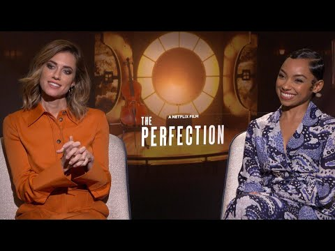 The Perfection: Allison Williams and Logan Browning (Full Interview)