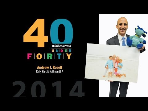 2014 Fort Worth Business Press 40 Under 40 - Andrew J. Rosell