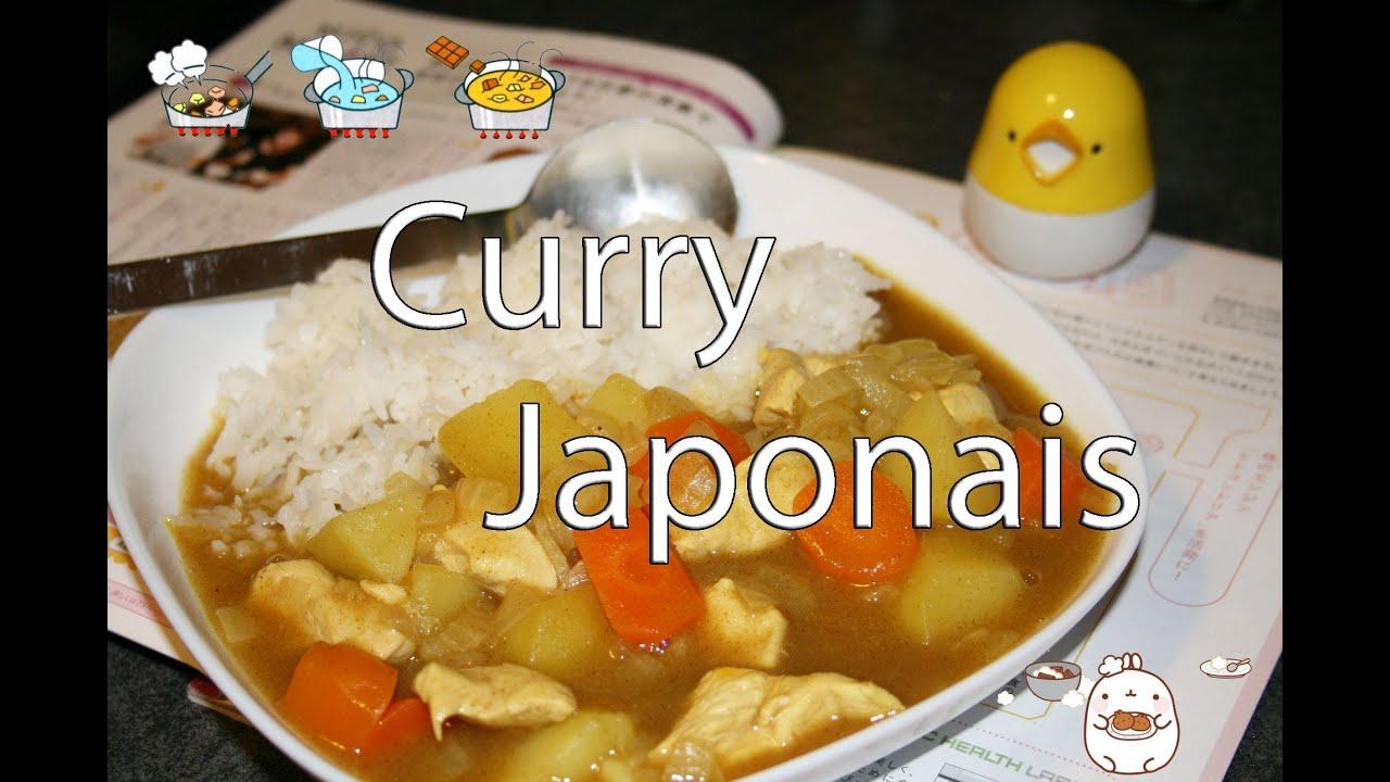 recette curry japonais youtube. Black Bedroom Furniture Sets. Home Design Ideas
