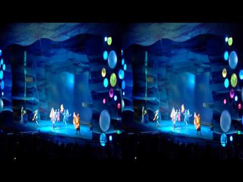 Finding Nemo The Musical 3D - Part 2 - Full Performance - Side By Side Disney World