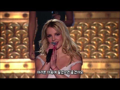 브리트니 스피어스(Britney Spears) 제일 예뻤던 리즈시절 Everytime 라이브 [한글자막]