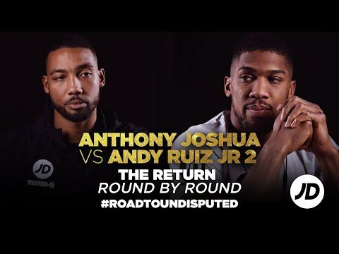 jdsports.co.uk & JD Sports Promo Code video: ANTHONY JOSHUA VS ANDY RUIZ JR 2 - THE RETURN | ROUND BY ROUND #ROADTOUNDISPUTED
