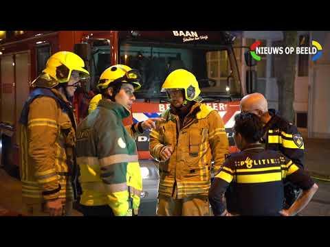 Zeer grote brand verwoest woning Gerdesiaweg Rotterdam 22-03-19 photo