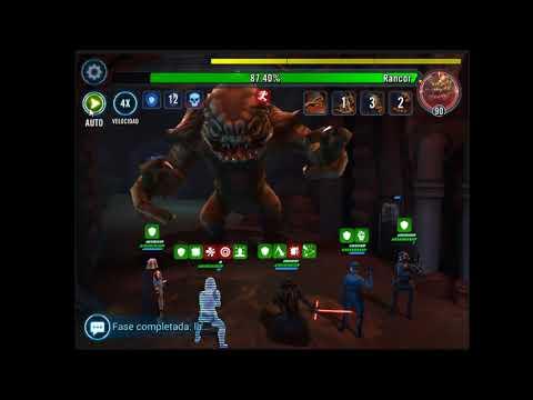 Star Wars: Galaxy of Heroes (ANDROID/IOS) DESAFÍO RANCOR