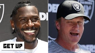 Jon Gruden supports Antonio Brown's helmet grievance | Get Up