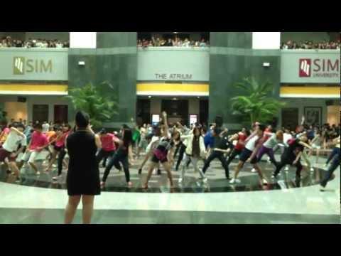 Gangnam Style in SIM University Singapore