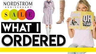 What I Ordered | Nordstrom Anniversary Sale 2018!