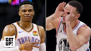 Russell Westbook is underappreciated because he can't shoot like Steph Curry - Jalen Rose | Get Up!
