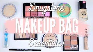 Drugstore Makeup Bag Essentials!