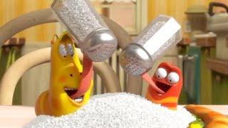 LARVA - Coma pouca sal | 2017 Filme completo | dos desenhos animados | Cartoons Para Crianças