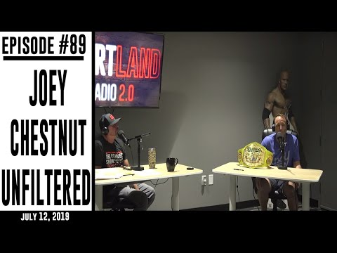 Ep. 89 - Joey Chestnut Unfiltered