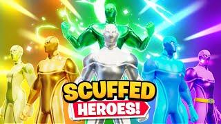 THE SCUFFED SUPERHEROES