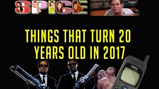 Things that turn 20 years old in 2017 (Songs, Movies, Events & Products)
