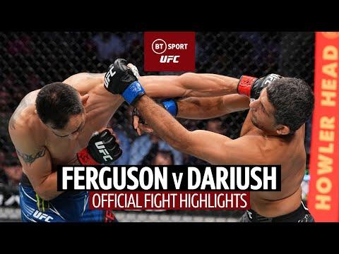 How did he not tap! Tony Ferguson v Beneil Dariush | UFC 262 Fight Highlights