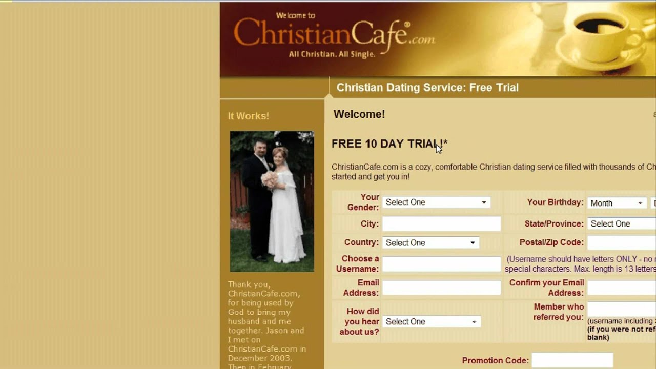 Christian online dating artikel