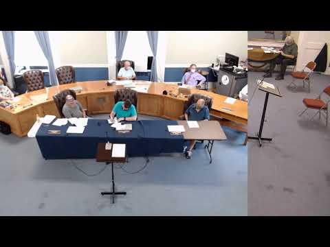 Plattsburgh Common Council Meeting  8-6-20