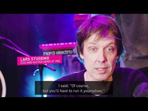 Lars Stugemo är en av HiQs grundare. Han är också gitarrist i ett band och musikälskare. Vi bad Lars berätta varför musik är en så viktig del av HiQs kultur och hur allt en gång började!