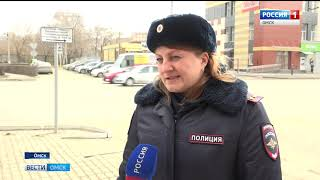 В центре Омска убрали сразу два пешеходных перехода