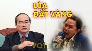 Nguyễn Thiện Nhân lại hứa với người dân Thủ Thiêm, cú lừa ngoạn mục #VoteTv