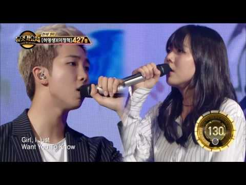 【TVPP】 Rap Monster (BTS) - Umbrella,  랩몬스터(방탄소년단)- 우산 @ Duet Song Festival