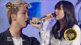 【TVPP】 Rap Monster (BTS) - Umbrella,  랩몬스터(방탄소년단)- 우산 @ Duet Song Festival