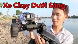 Thanh Niên Chơi Xe Điều Khiển Từ Xa Chạy Dưới Sông và Cái Kết - Lâm Vlog