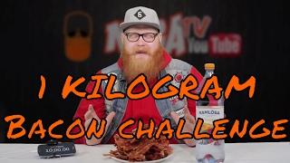 CHALLENGE   1KG Bacon Challenge! Utmanar Hoffa Kaos, Let's Taste & Fläskets Ord